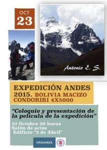 Cartel Pelicula Expedicion Andes