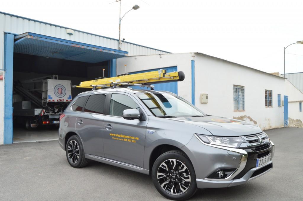 El nuevo coche eléctrico de la Cooperativa.