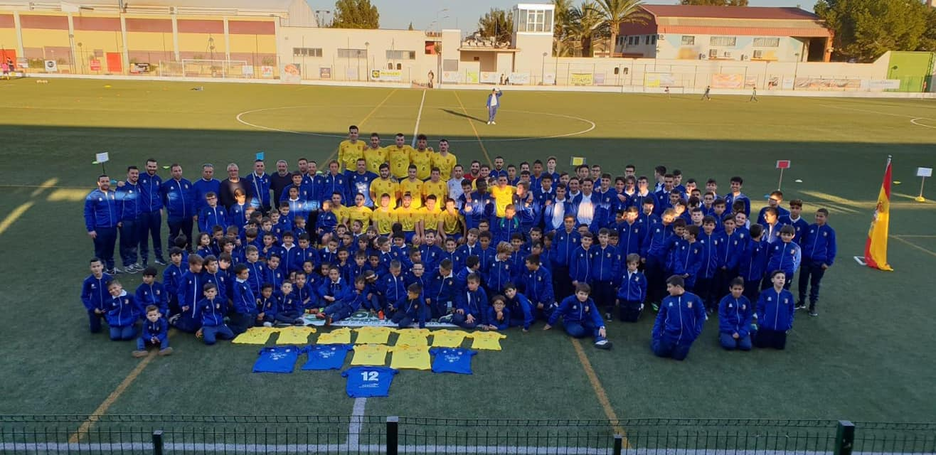 Presentacion escuelas de futbol albatera 2018